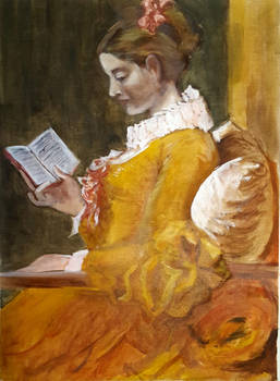Masterstudy A Girl Reading