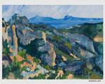 Cliffs in L 'Estaque - Cezanne