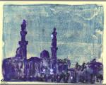 Violet Mosque Architecture