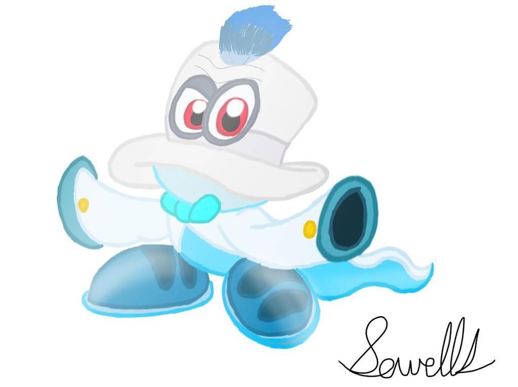 Cappy Super Mario Odyssey 2 By Sowells On Deviantart