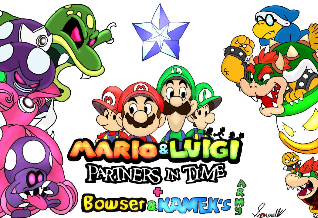 Mario And Luigi Partners In Time Remake By Sowells On Deviantart