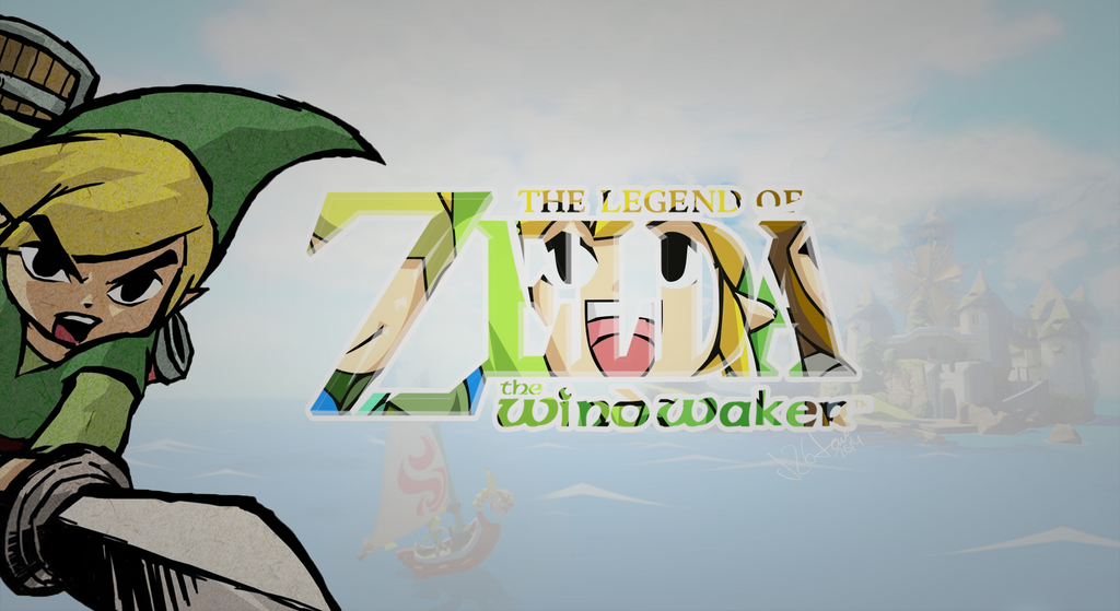 The Legend Of Zelda The Windwaker Wallpaper By J2gjavi On