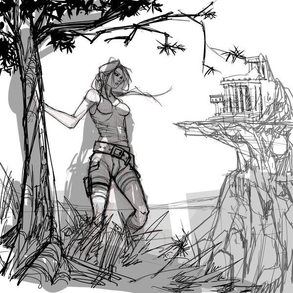Tomb Raider by yezzzsir