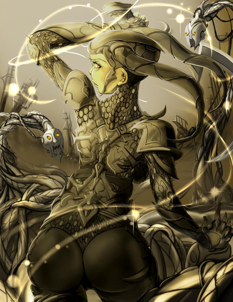 Golden Army by yezzzsir