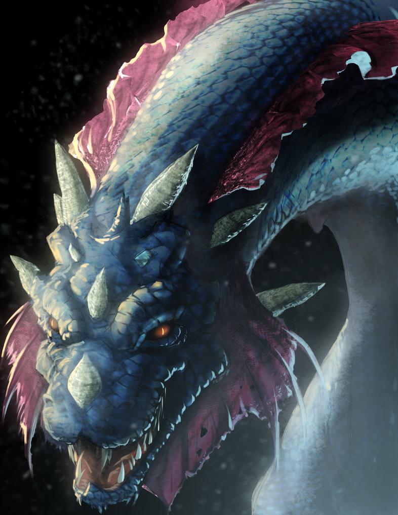 Ice Dragon by yezzzsir