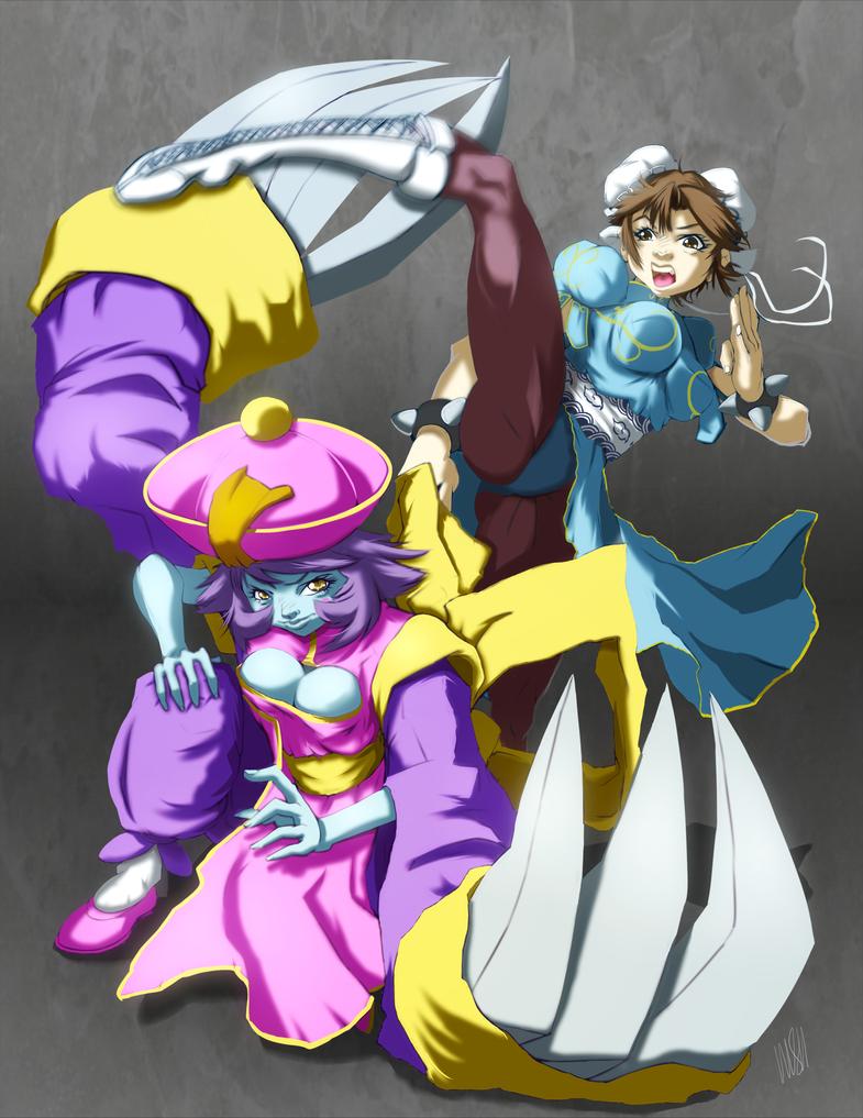 Capcom fighting tribute by yezzzsir