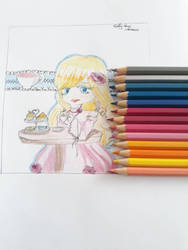 art with new pencils ! by unknownkaty