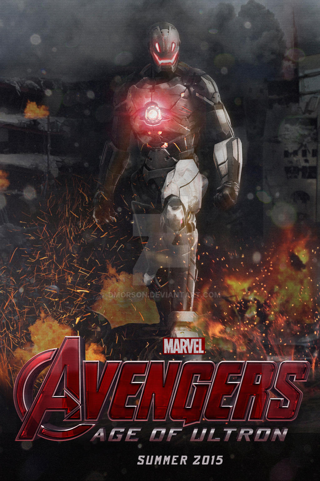 Avengers: Age of Ultron - Concept Poster 2 by dmorson on ...