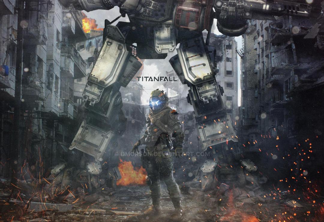 titanfall militia fan art by dmorson on deviantart