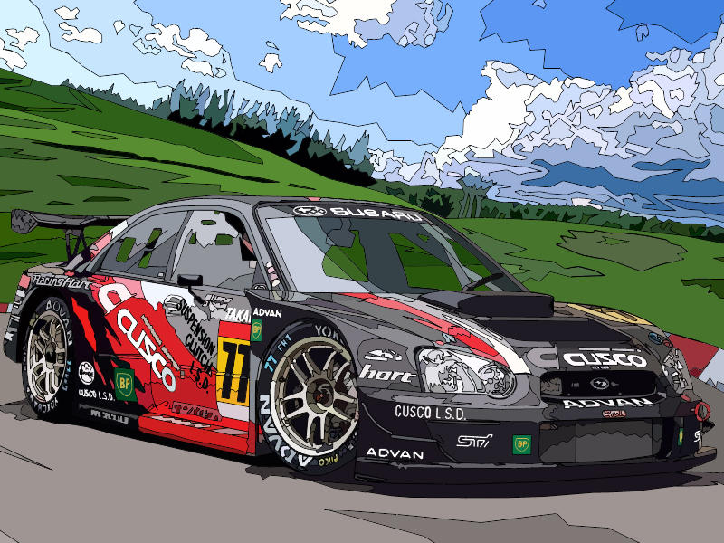 2004 Cusco GT Impreza by aethiself