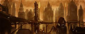Gotham City Landscape