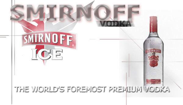 Smirnoff Vodka by komodai