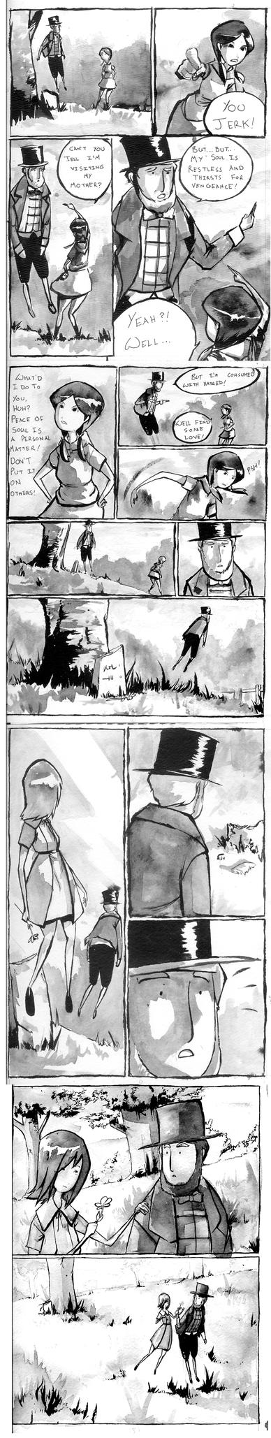 Ghosts, part 2 by ashwara