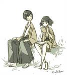 Miki and Takashi