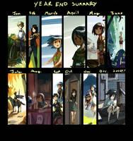 Year End Summary, 2010 by ashwara