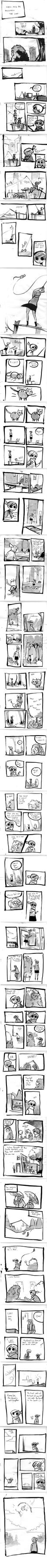 24 Hour Comic by ashwara