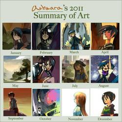 2011 Art Summary by ashwara