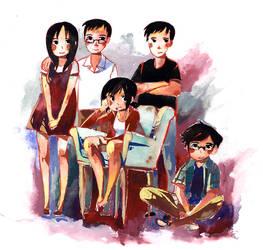 Nguyen Family by ashwara