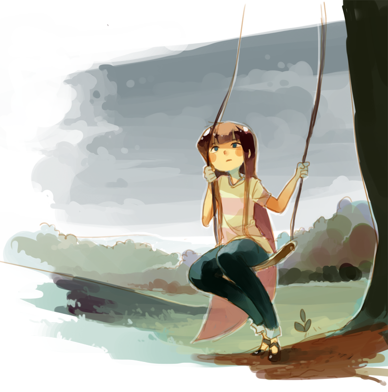 On a Swing by ashwara