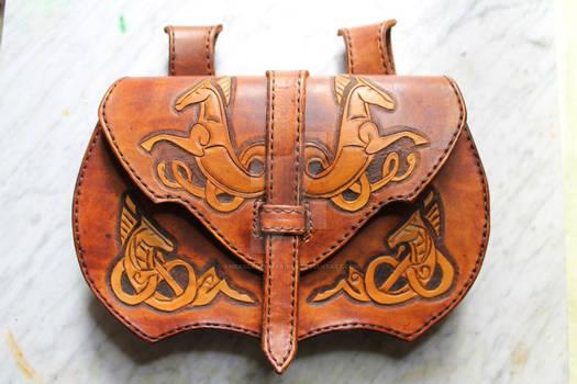 Sacoche cheval Rohan/ Horse Rohan purse medieval