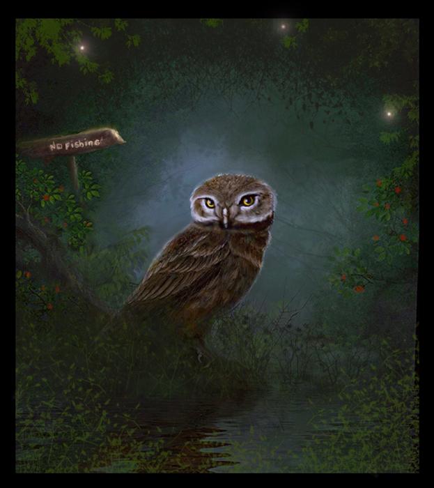 Owl by mel3d