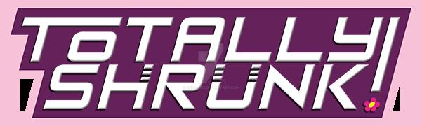 Totally Shrunk logo by MerComix