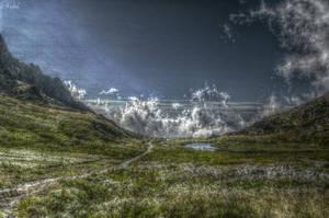 Plain. Mountain by Ardel2W