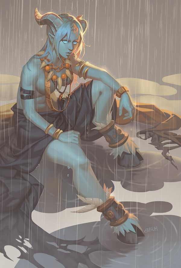 Rainy Shaman by PuddingPack