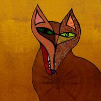 The fox in daylight by Aspartam