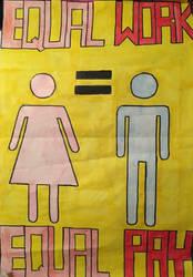 Equal Pay Propaganda by annawatson99