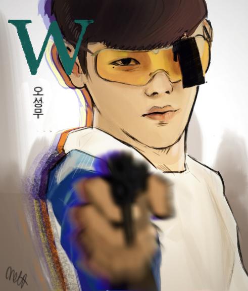 Kang Chul - W two worlds by Silverbang