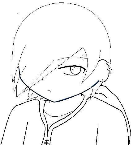 Emo chibi coloring pages coloring pages for Emo coloring pages