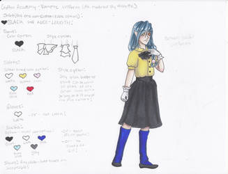 Crofton Academy Uniform Female Vampire by Scayce