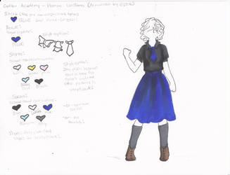 Crofton Academy Uniform Female Human by Scayce