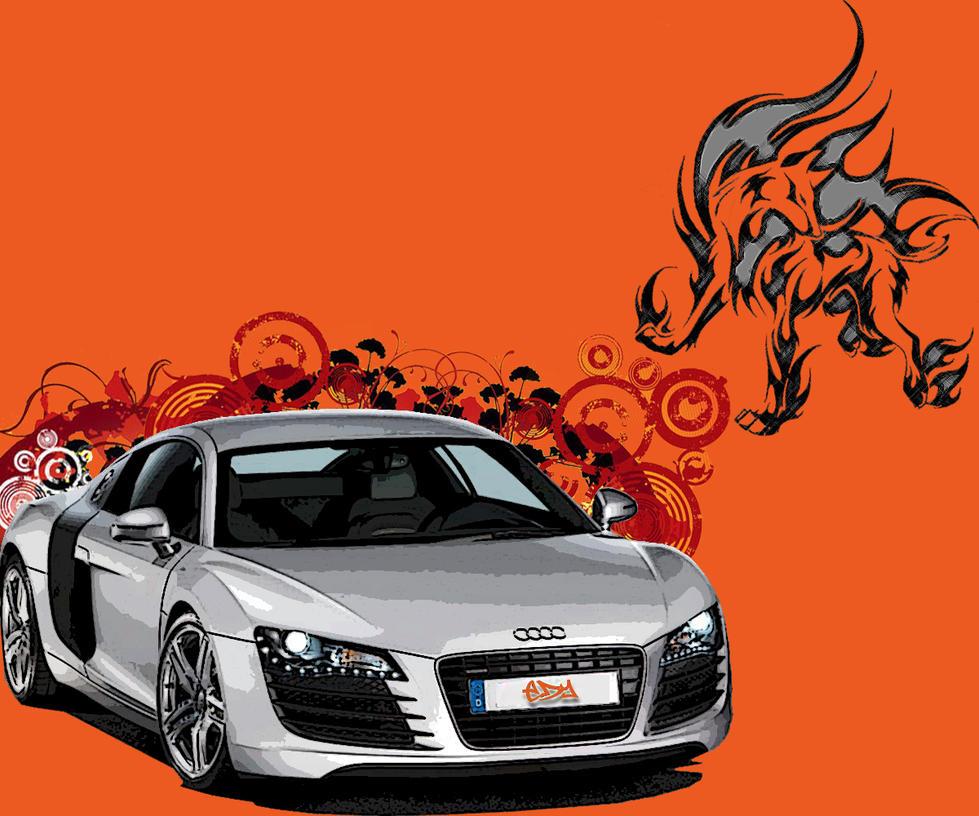 Audi R8 by dayakinjr