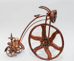 Steampunk-Bike