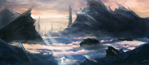 Concept Painting: the highlands