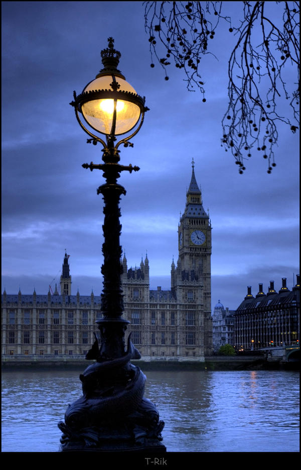 Big Ben by Lamp light by Haywood-Photography on DeviantArt