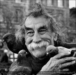 The Bird Man 0428o by Haywood-Photography