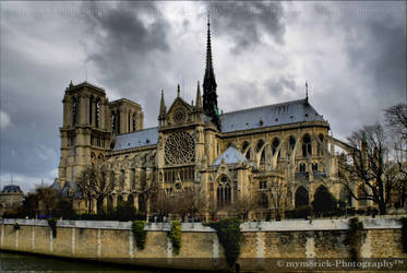 Notre Dame cathedral 0638n by Haywood-Photography