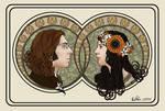 Art Nouveau Wedding Portraits