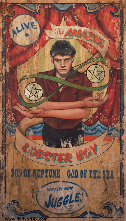 The Amazing Lobster Boy by hever
