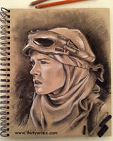 Scavenger Scum Charcoal Study by hever