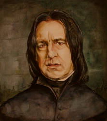 Severus Snape by hever