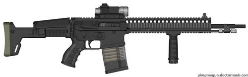 GRX2 Shipboard Assault Rifle by Vert8472