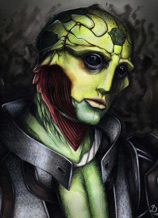 Mass Effect - Thane Krios by YumiKoyuki