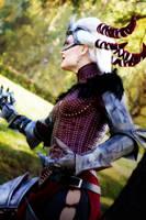 Dragon Age II - Battle Stance by YumiKoyuki