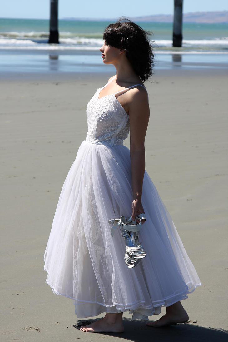 Walking on the beach by CathleenTarawhiti