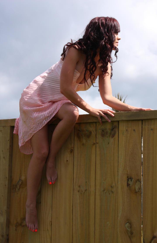 On the fence 4 by CathleenTarawhiti