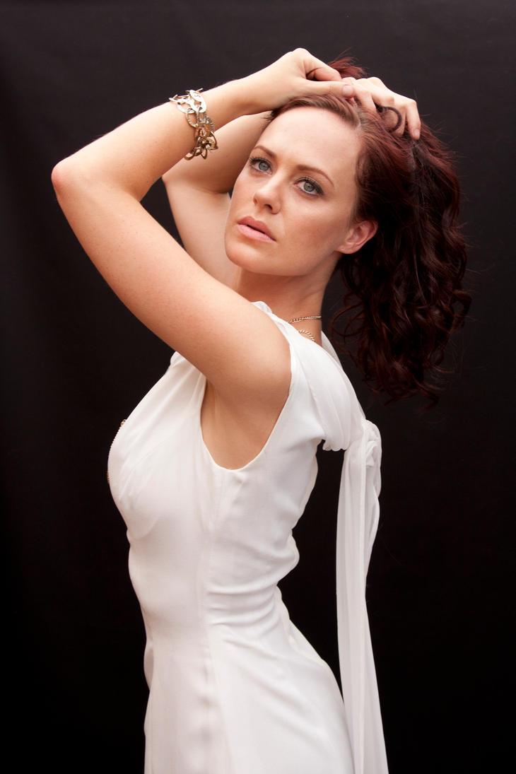 White dress by CathleenTarawhiti